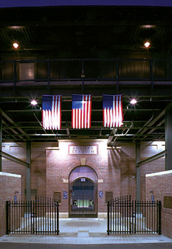 Holman Stadium front gate– Nashua, New Hampshire