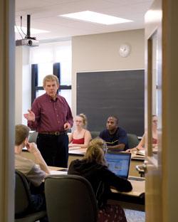 Landmark College classroom – Putney, Vermont