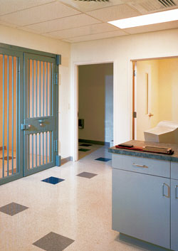 Pelham Police Station holding cell – Pelham, New Hampshire